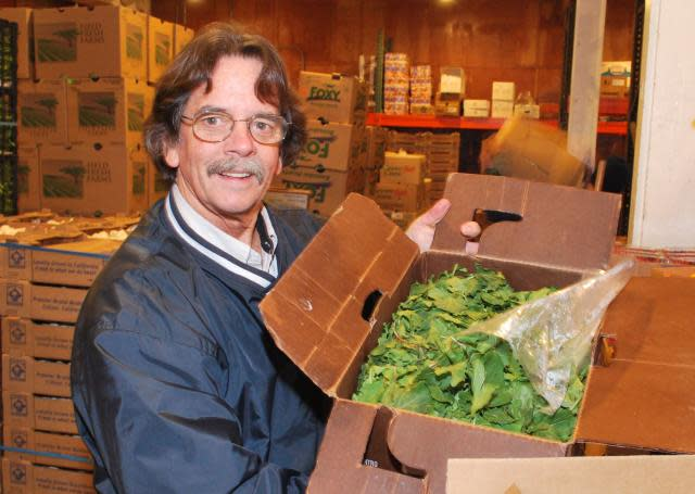 Jim Mills of Produce Express in Sacramento
