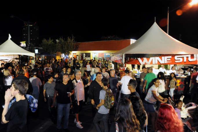 Las Vegas Event Crowd