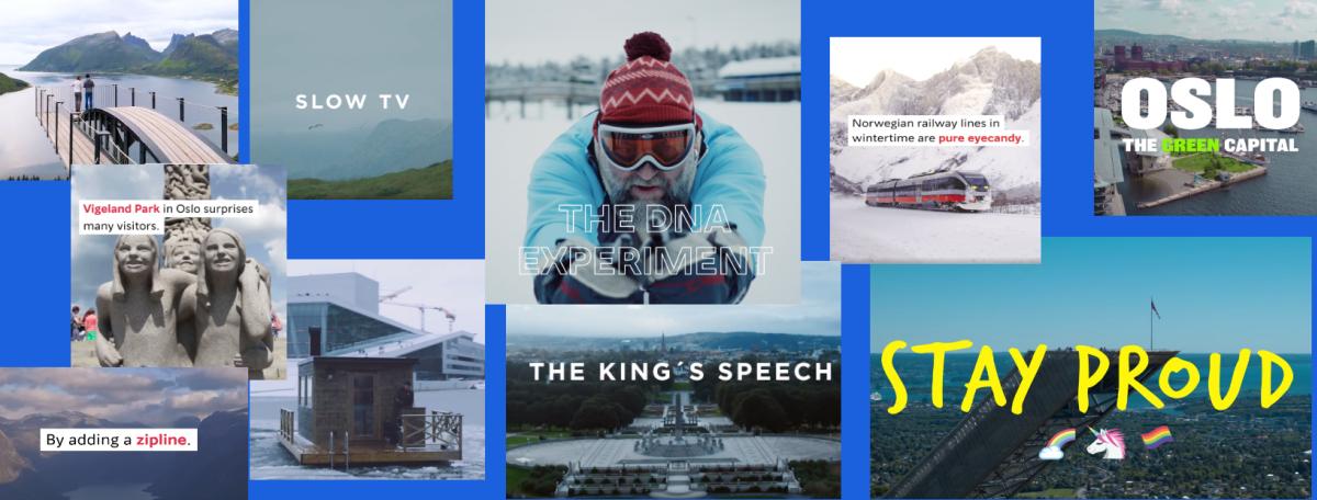 Visit Norway | Mest sett filmer 2019