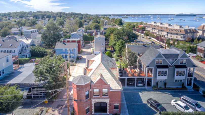 Firehouse Inn From Above