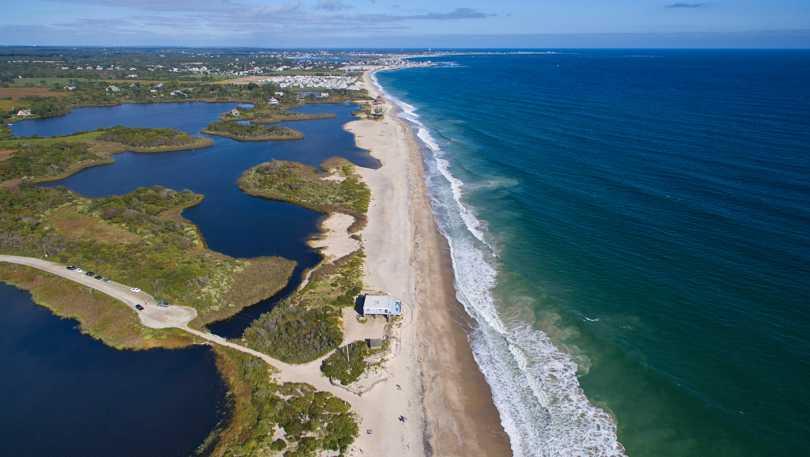 Moonstone Coastline Aerial