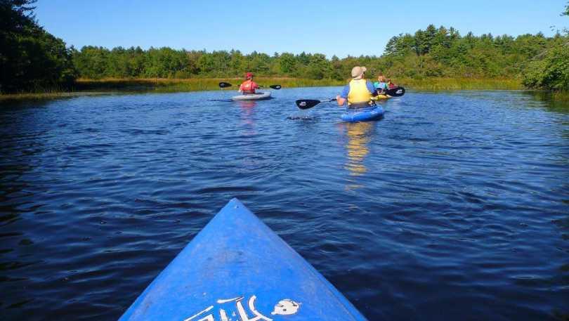 Kayaking POV