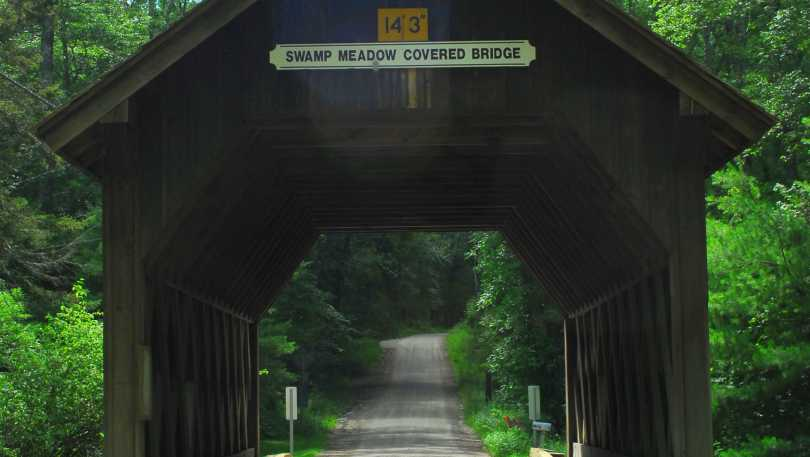 Swamp Meadow Covered Bridge