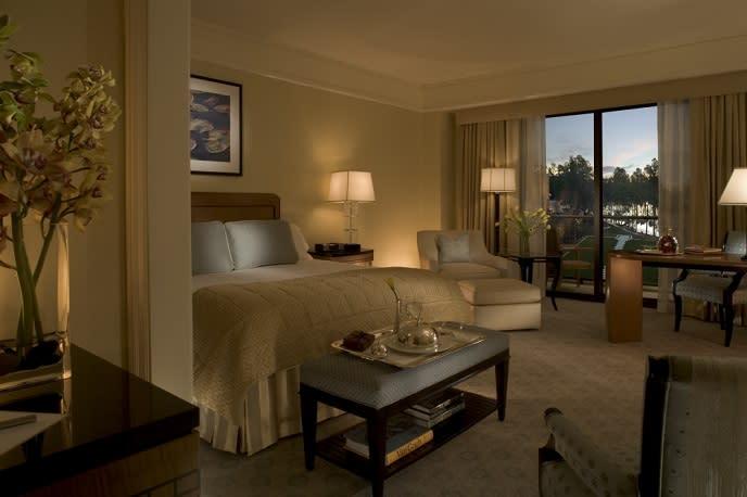 Umstead Hotel room interior
