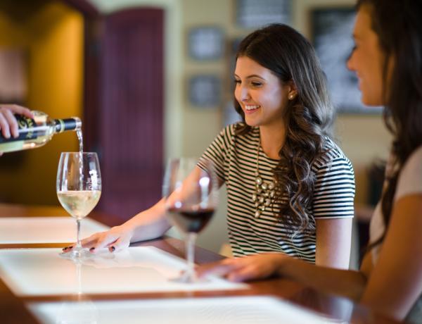 Wine Tasting at Napa Valley winery