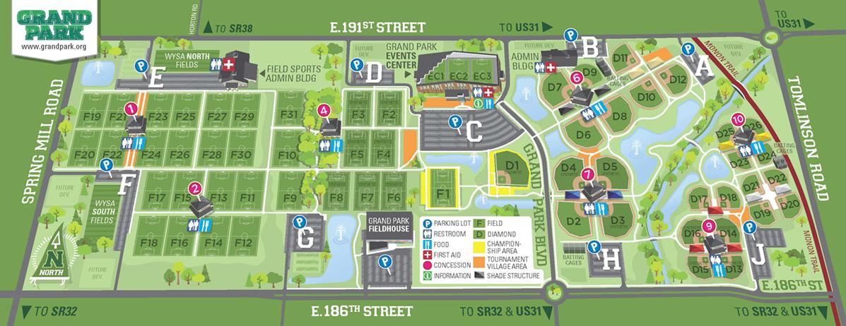 Grand Park Map