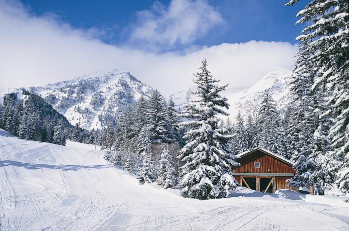Winter at Sundance Resort