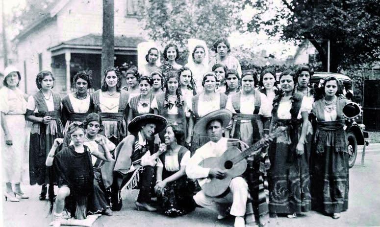 first fiesta circa 1933