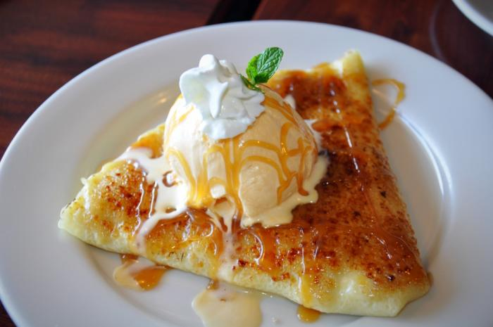 Crepe at Savory Thai in Orem