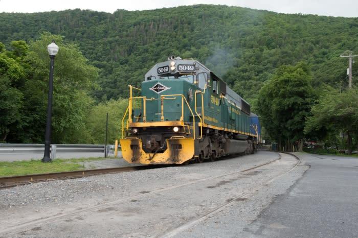 Train Tours in the Pocono Mountains