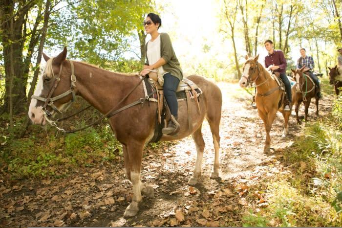 Horseback Riding in the Pocono Mountains