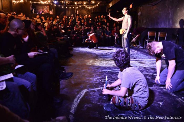 The Neo-Futurists present The Infinite Wrench