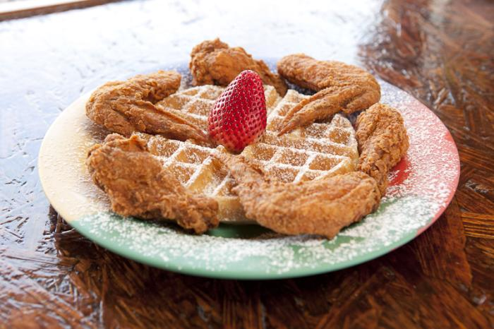 Breakfast Klub Chicken and Waffles