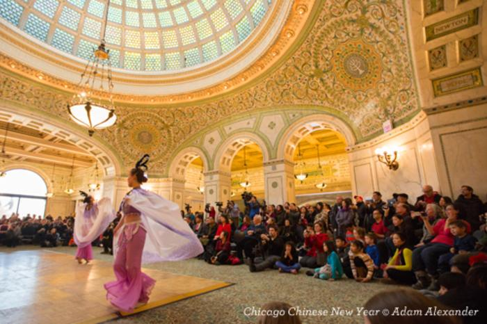Chicago Chinese New Year at Chicago Cultural Center