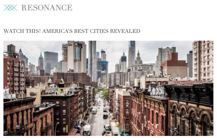america's best cities revealed