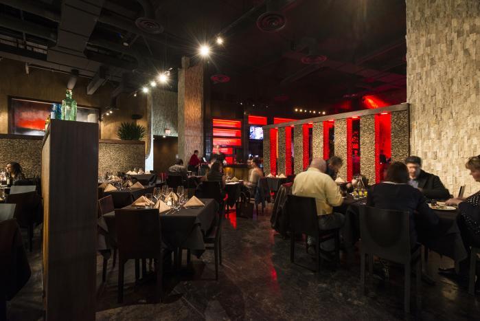 Inside of a Houston Restaurant