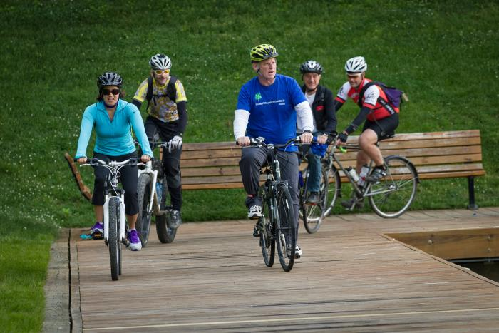 Executive Kittleman on Bike to Work Day