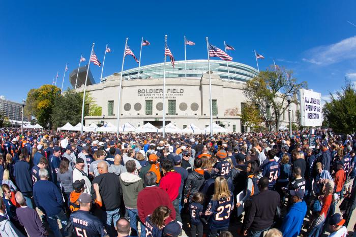 Chicago Bears Tailgate at Soldier Field