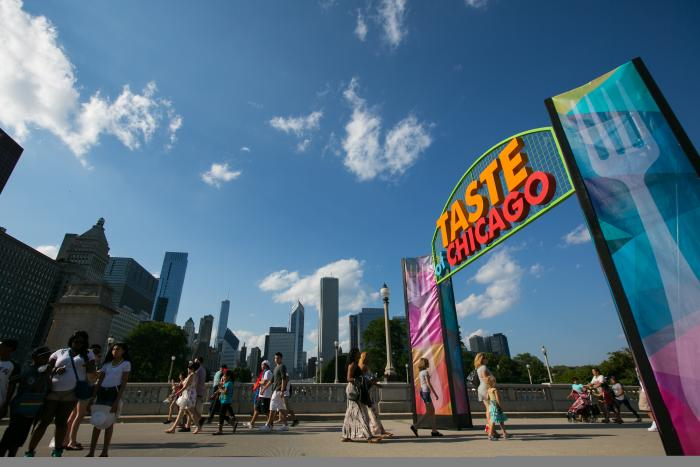 Taste of Chicago 2014 Entrance