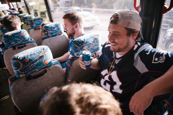 Bus.com shuttle to Gillette Stadium