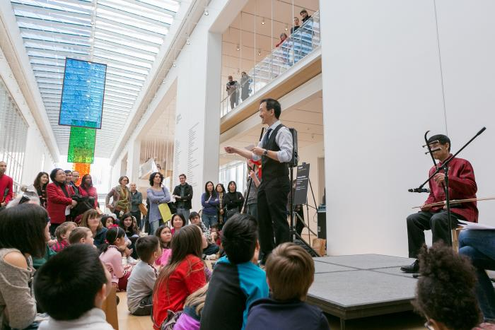 Chinese New Year at the Art Institute of Chicago