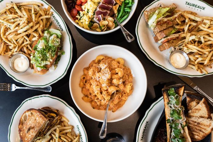 French food at Taureaux Tavern
