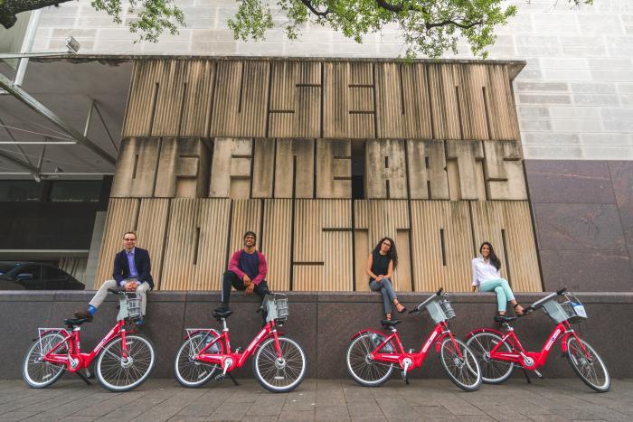 MFAH B-cycle bike tour