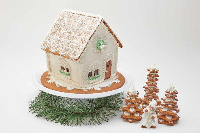 Sweet Creations Gingerbread House at George Eastman Museum