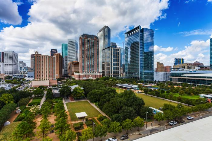 Discovery Green in Houston