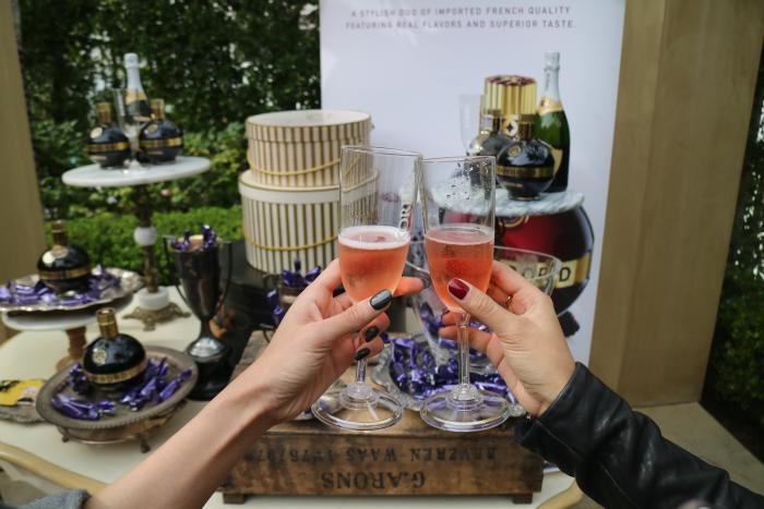 Champagne Glasses at OC Restaurant Week