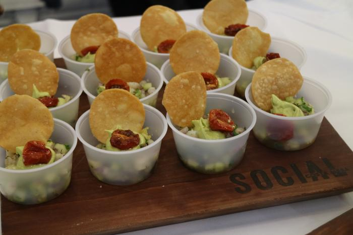 Chip Hor D'oeuvres at OC Restaurant Week in Irvine