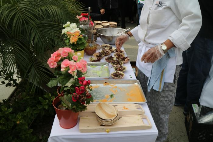 Sample Table at OC Restaurant Week in Irvine