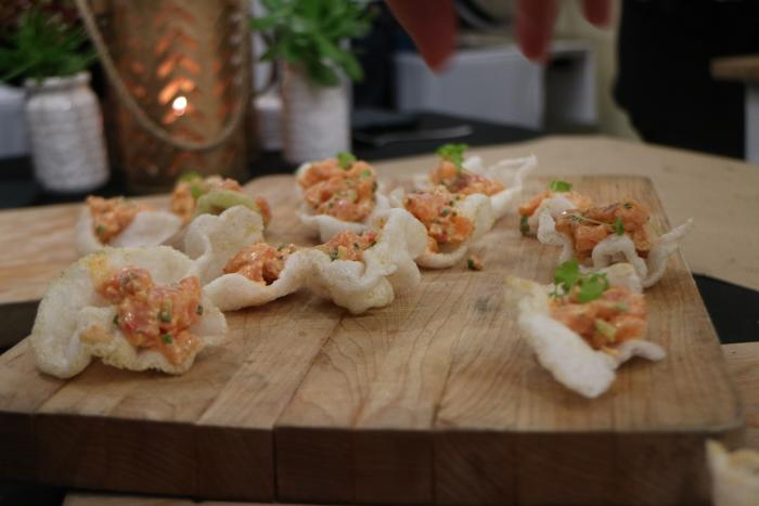 Hor D'oeuvres at OC Restaurant Week in Irvine