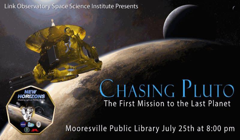 Chasing Pluto