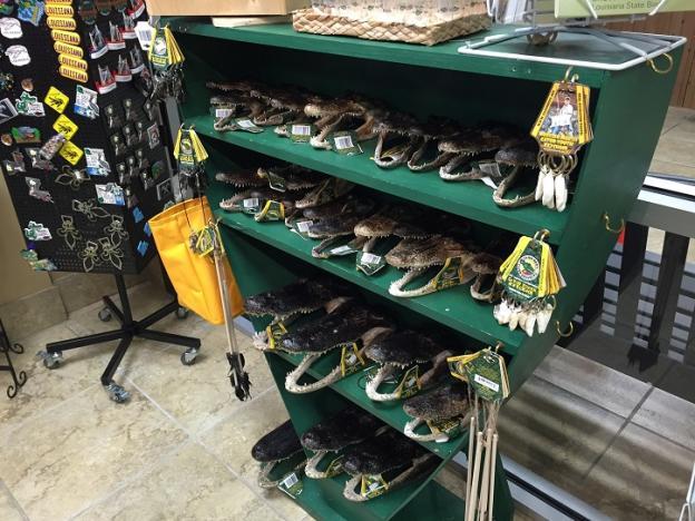 Cajun Ben's products at CVB