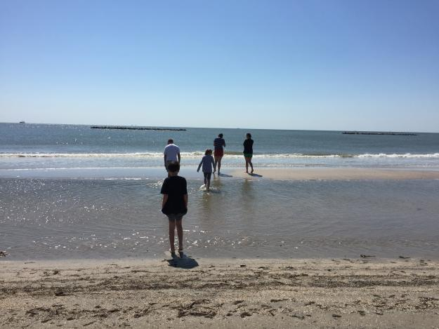 Kids at the Beach | Creole Nature Trail