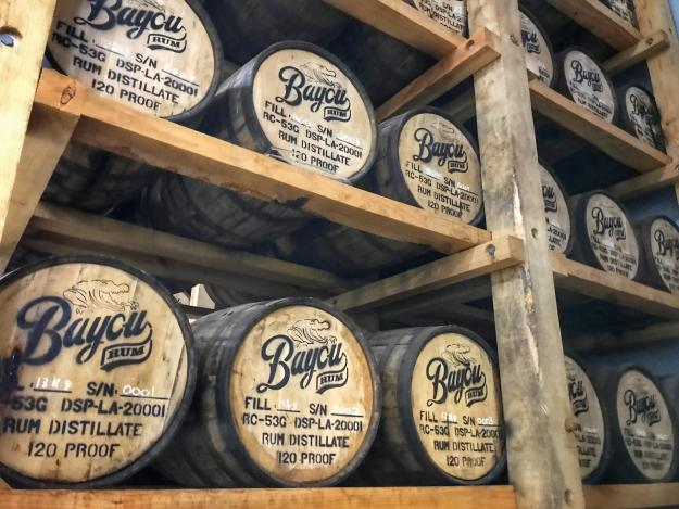 Bayou Rum Barrels