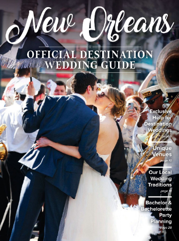 New Orleans Destination Wedding Guide Cover 2018