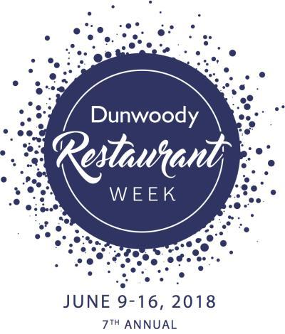 Dunwoody Restaurant Week Logo 2018