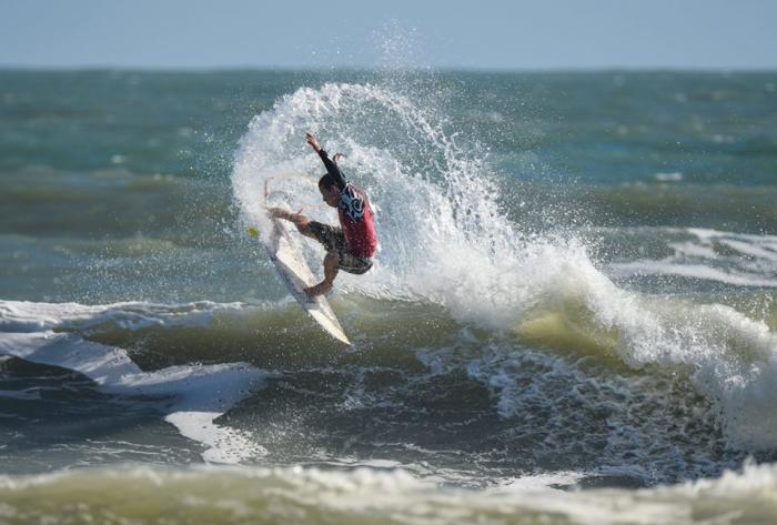 Surfing at the NKF Surf Festival