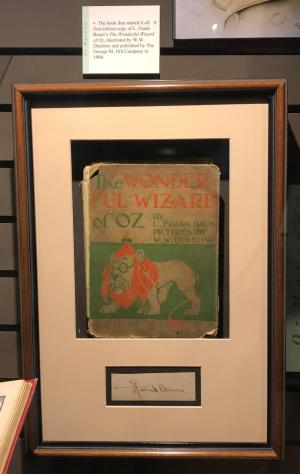 First Edition Signed Copy of The Wonderful Wizard of Oz (Oz Museum)
