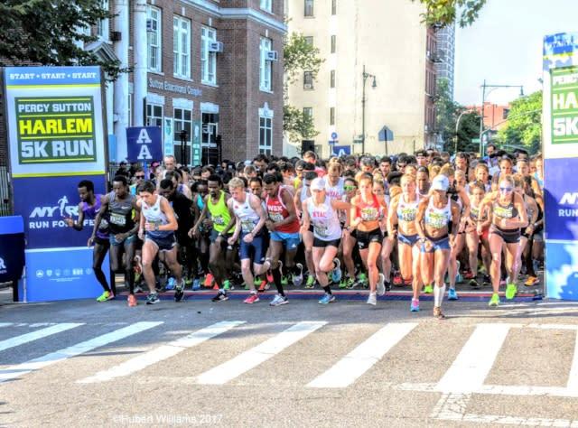 Percy Sutton Harlem 5K Run and heath walk