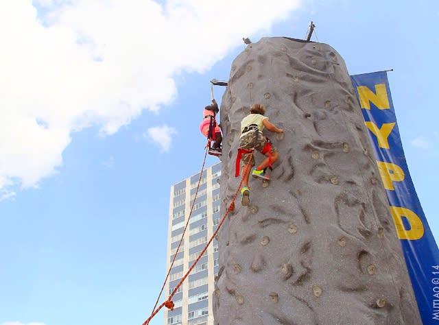Rock climbing - Harlem Week