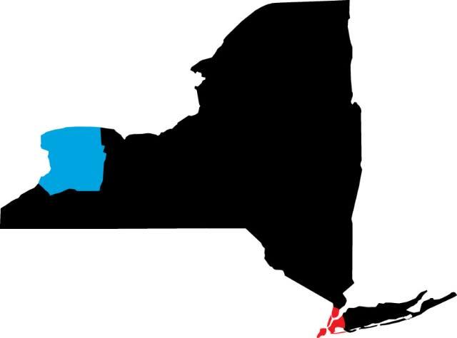 NYC to Greater Niagara Map