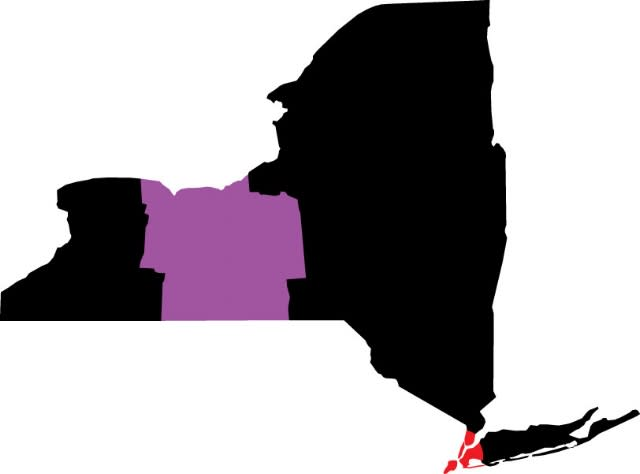 NYC to Finger Lakes Map