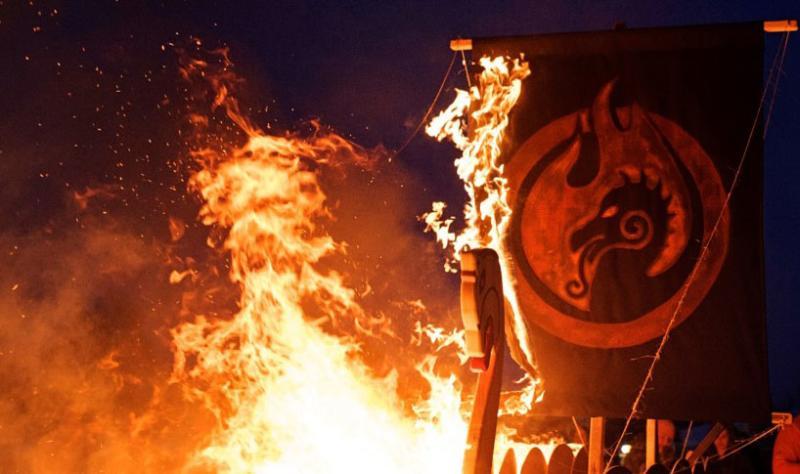 Michigan Nordic Fire Festival