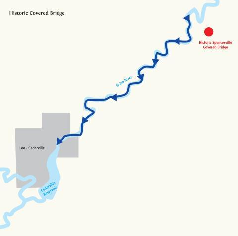 Paddle Trip: Historic Covered Bridge