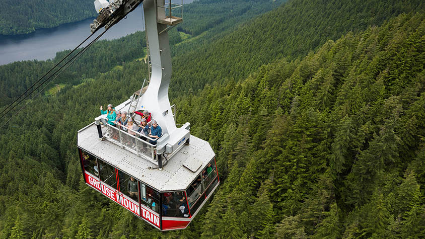 Grouse Mountain Skyride Surf