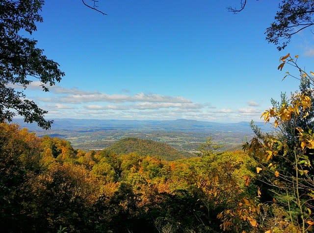 Fall Scenic Overlook - Fall Photo
