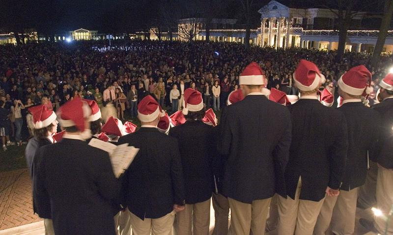 Lighting of the Lawn